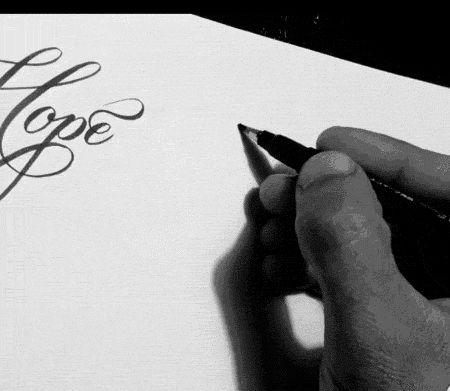 Brush Lettering gifs - Imgur
