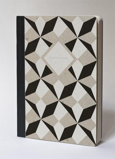 Great Geometric Pattern on Notebook