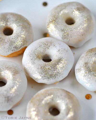 Gluten free mint choc chip doughnut recipe by Torie Jayne