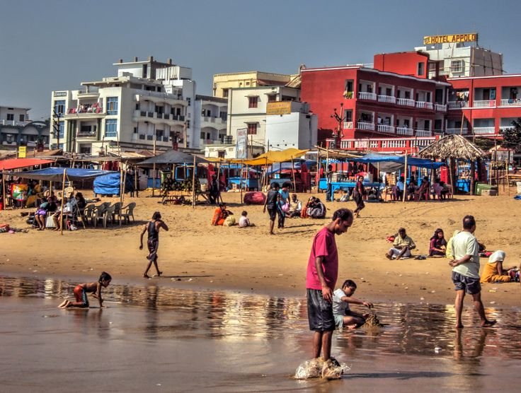 Beach activity by Indranil Dutta on 500px