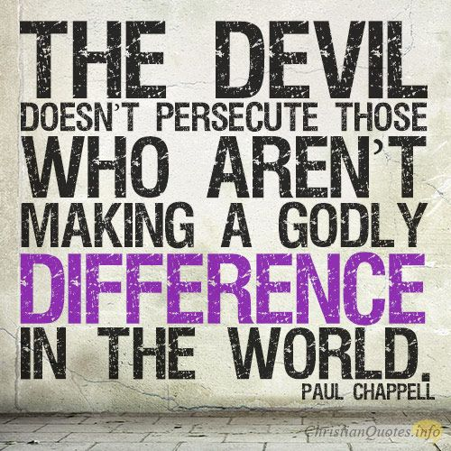 Daily Devotional - 4 Reasons Persecution Is Good #Christianquote