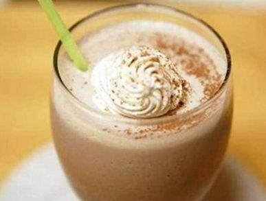 Čokoládový milkshake