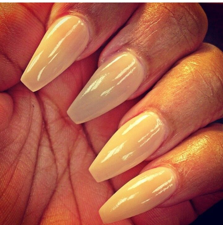 Ballerina Nail Shape Pictures to Pin on Pinterest - ThePinsta