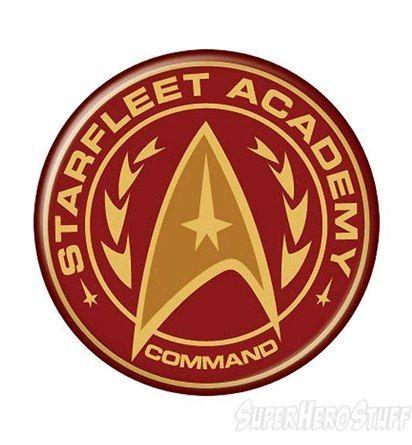Images of Star Trek Starfleet Command Academy Button