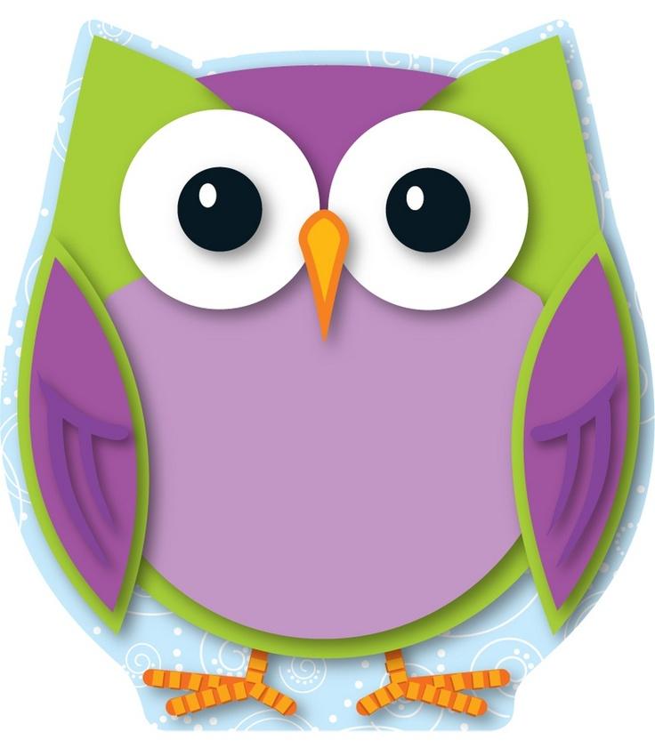 Colorful Owl Cut-Outs | Classroom décor from Carson-Dellosa