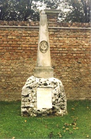 Tombes célèbres - Antonio Salieri