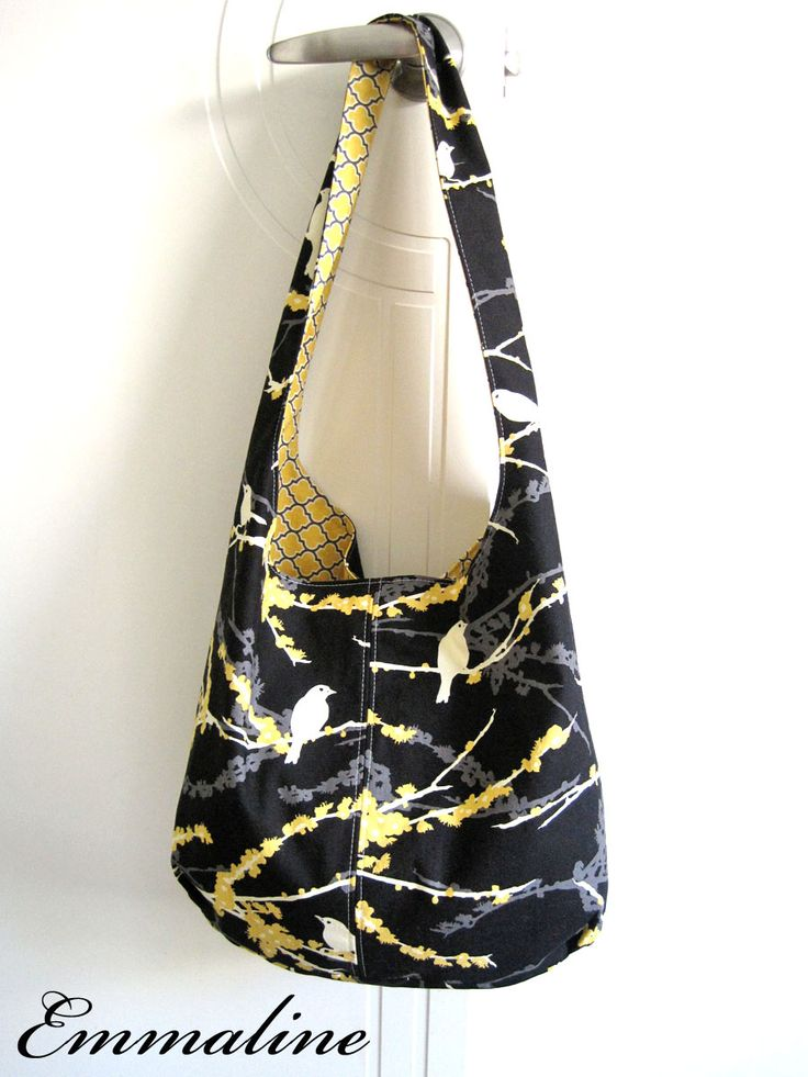 Emmaline Bags & Patterns: A Slouchy Hobo Shoulder Bag - link to free tutorial