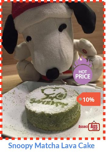 Special offer on Snoopy Matcha Lava Cake Check out at http://associads.com/Snoopy-Matcha-Lava-Cake_h4yy765