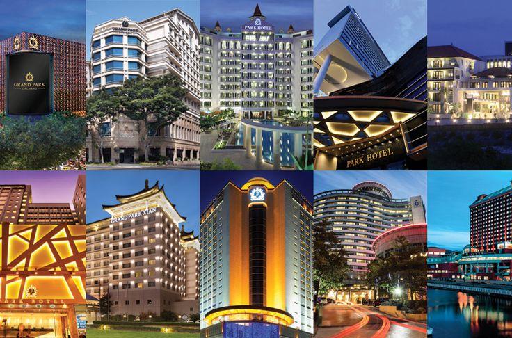 — Singapore —  Grand Park Orchard  Grand Park City Hall  Park Hotel Clarke Quay  Park Hotel Alexandra  — Indonesia —  Park Hotel Nusa Dua, Bali  — Hong Kong —  Park Hotel Hong Kong  — China —  Grand Park