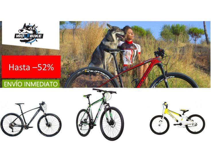 Ofertas bicicletas Wolfbike con descuentos de hasta el 52%