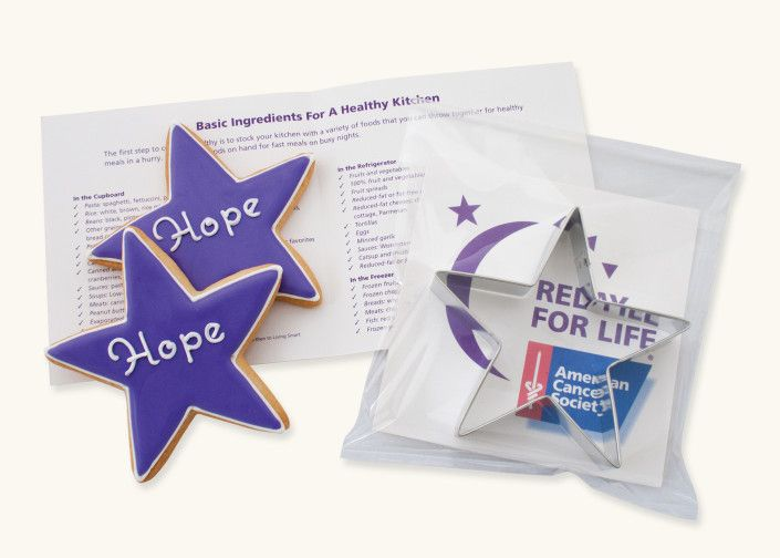 Relay for Life Custom Cookie Cutter