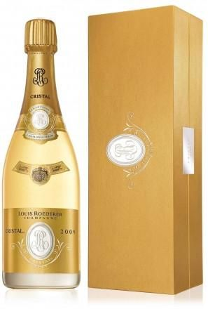 Louis Roederer Cristal 2009 Champagne 75cl in Gift Box