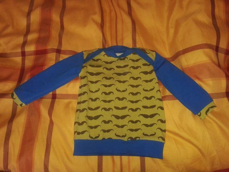 T-Shirt mit Schlupfkragen aus Jersey   Größe 62 für meinen Neffen