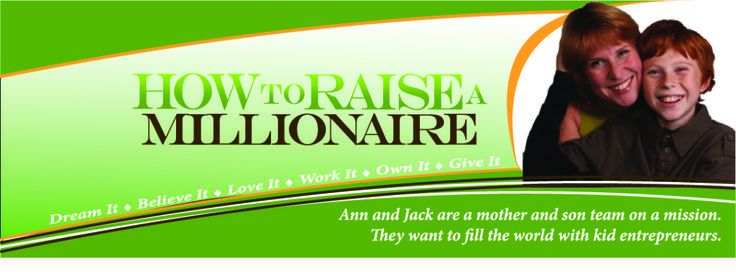 Teaching kids millionaire skills so they can imagine and live the life of their dreams