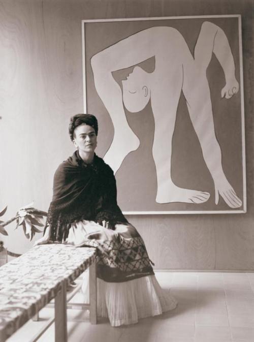 Frida Kahlo and Picasso