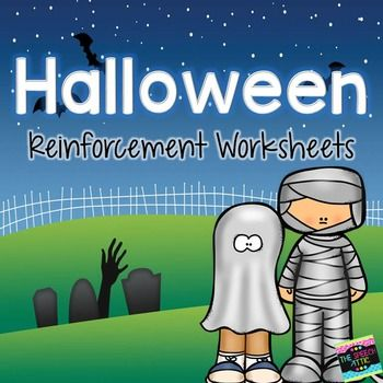 this halloween themed packet includes 9 no prep just print and go worksheets they are open. Black Bedroom Furniture Sets. Home Design Ideas
