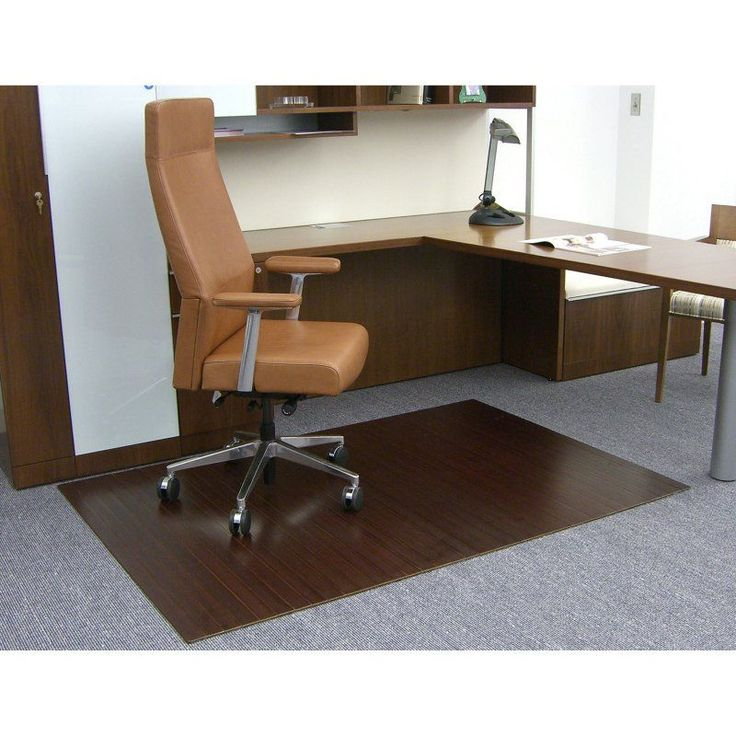 durable pvc home office chair. dark cherry 48 x 72 bamboo rollup office chair mat durable pvc home
