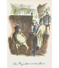 The Regulars at the Hero From The Local, a series of lithographs depicting London pubs.