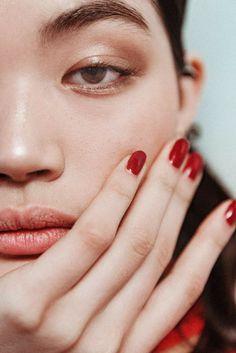 NYFW F/W17 Makeup: Brock Collection #cartonmagazine