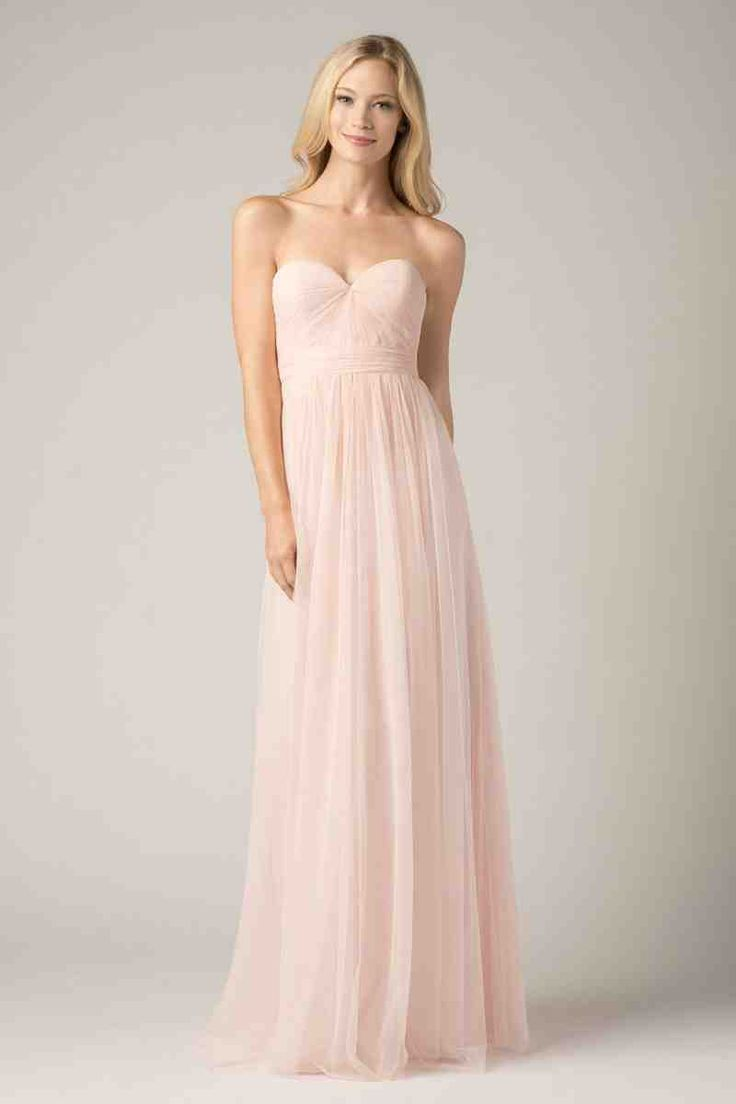 22 best blush bridesmaid dresses images on pinterest blush this convertible wtoo maids bridesmaid infinity dress will take your breath away light as a feather bobbinet fabric is layered for a wispy effect ombrellifo Images