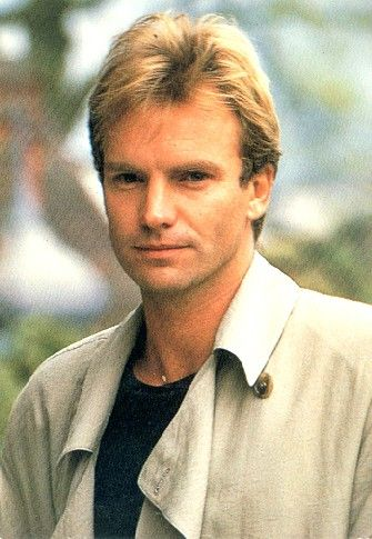 A young Sting