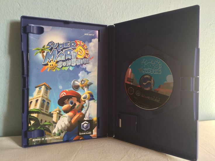 Super Mario Sunshine game opened.