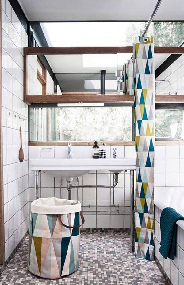 die besten 25 moderne duschvorh nge ideen auf pinterest. Black Bedroom Furniture Sets. Home Design Ideas