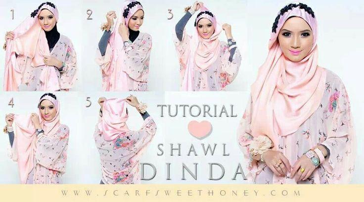 Malaysian Hijab (Tudung) tutorial