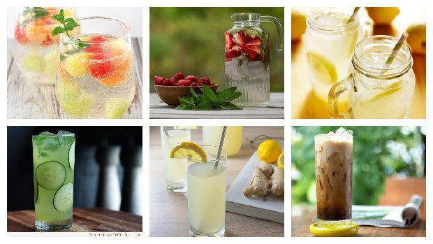 Co pít v horku, když vám obyčejná voda nechutná?