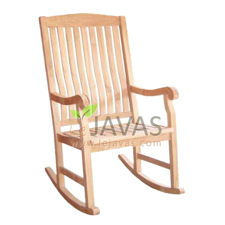 Teak Patio Rocking Armchair - Le Javas Furniture - Jepara ...