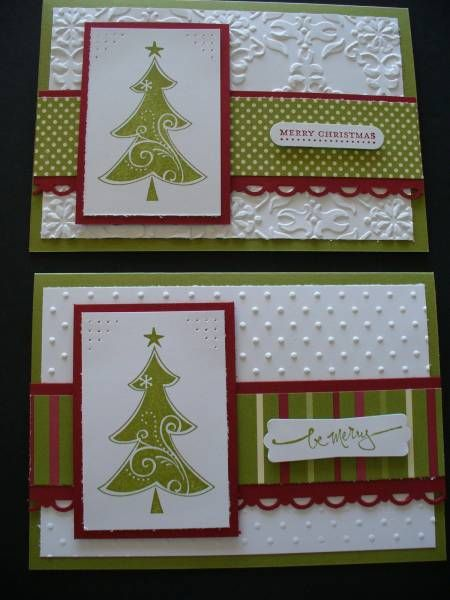 Christmas Tree Season of Joy by Tuppergirly - Cards and Paper Crafts at Splitcoaststampers