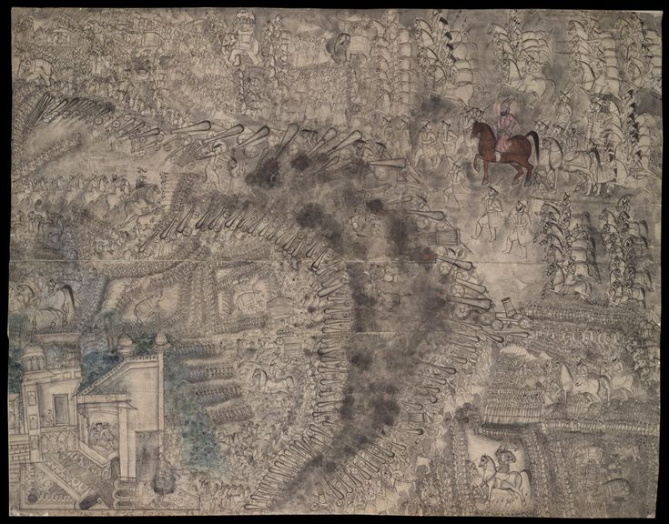 The battle of Panipat 14 January 1761