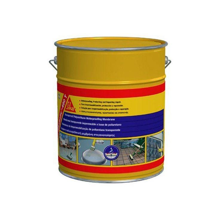 Sikalastic®-490T - Sikalastic®-490T: es una membrana líquida impermeable a base de poliuretano transparente monocomponente.