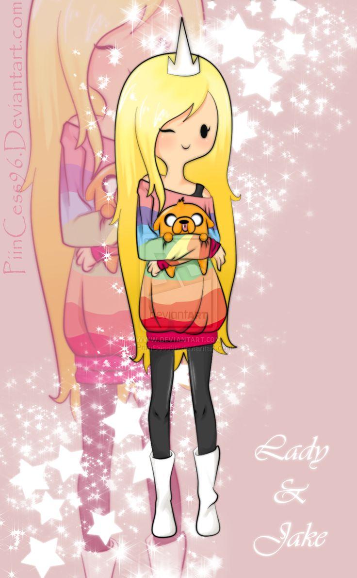 Adventure Time cosplay lady rainicorn