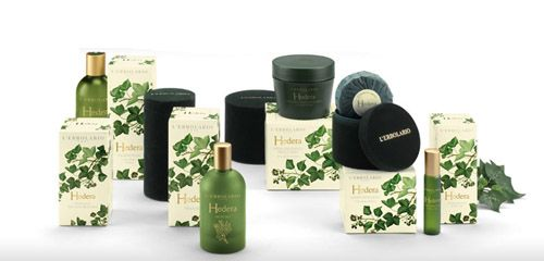 Hedera Parfüm illatcsalád Lerbolario Naturkozmetikumok Magyarország