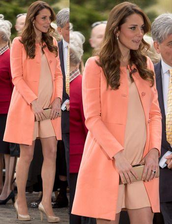 Kate Middleton. Love that color!