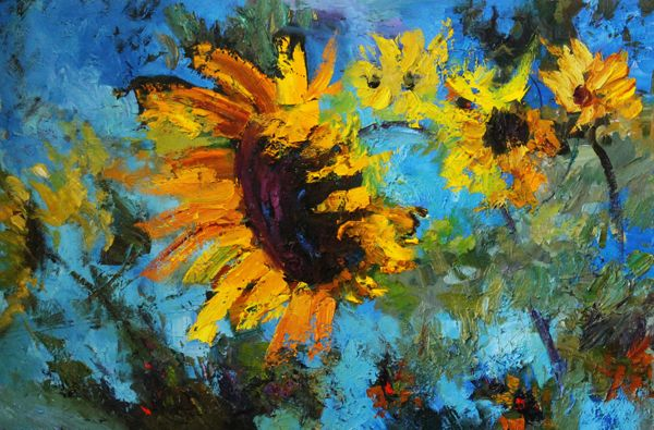 Vibrant Sunflower by Troy Collins