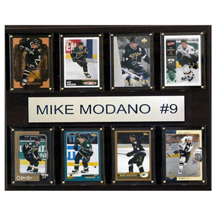 C and I Collectables NHL 15W x 12H in. Mike Modano Dallas Stars 8 Card Plaque - 1215MODANO8C