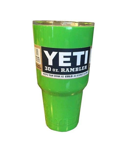 YETI cal verde 30 oz Rambler vaso taza Yeti de la taza