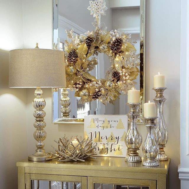Bteajans Home Decor Blog: How To Decorate Your Mantel For Christmas