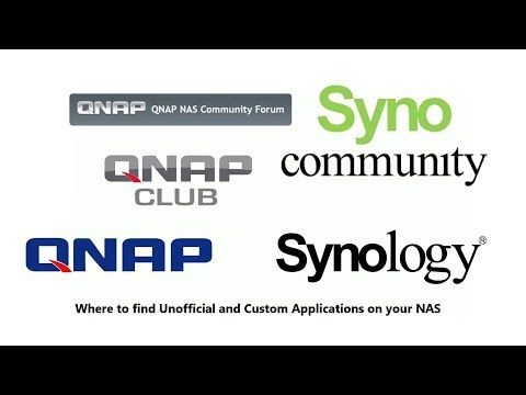 Unofficial and Custom Apps on your Synology and QNAP NAS | Twit live