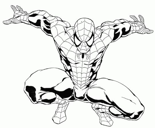 Coloring Page - Spiderman coloring pages 91