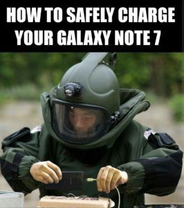 """Many believe, as the saying goes, """"There is a grain of truth inevery joke"""", and this Galaxy Note 7 meme is no exception."""