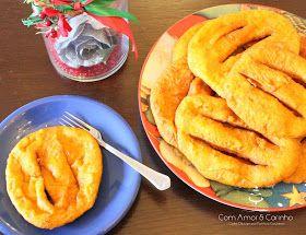 Sweet Patrícia: Sabores tradicionais - Filhoses de Abóbora e Laranja