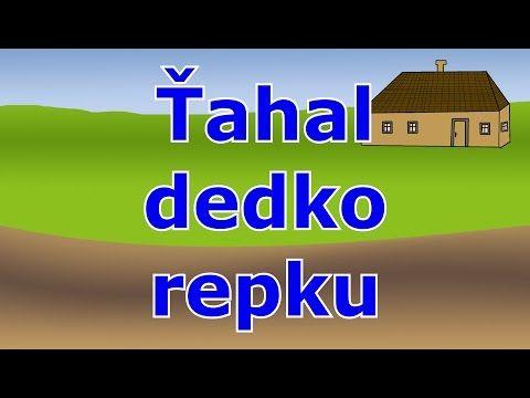 (9) Ťahal dedko repu - Animovaná rozprávka pre deti a najmenších - YouTube