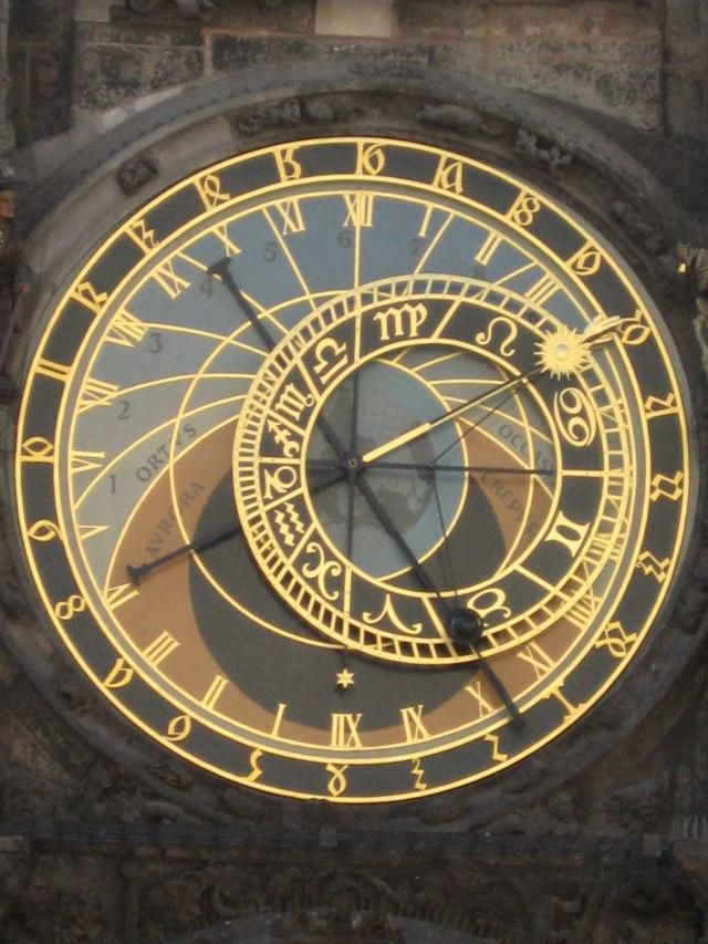 Photo Tour of Old Town Prague: Astronomical Clock in Prague's Old Town