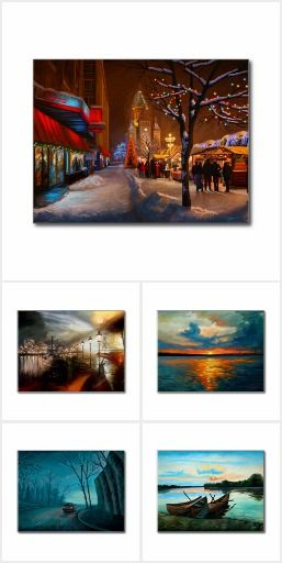 Impressionist Postcards