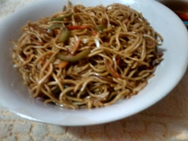 Schezwan Noodles in hindi urdu b uzma hussain