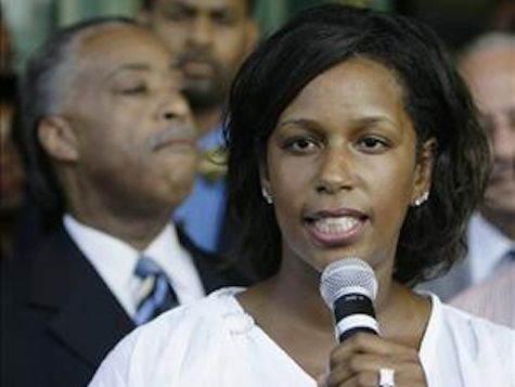 THE CHICKEN'S HAVE COME HOME TO ROOST -- Reverend Jeremiah Wright's Daughter INDICTED  for Money Laundering  (al sharpton pictured in back) -- ALL CORRUPT, ALL THE TIME!