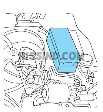 99 ford explorer engine bay fuse box location
